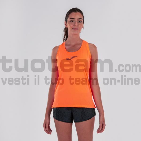 900956 - TABARCA SLEEVLESS 90% polyester 10% spandex - 050 ARANCIO FLUOR