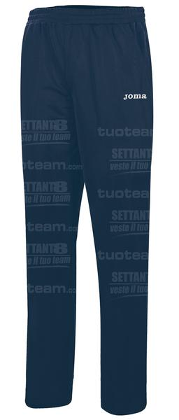 9016WP13 - PANTALONE TEAM 100% polyester fleece - 30 BLU NAVY