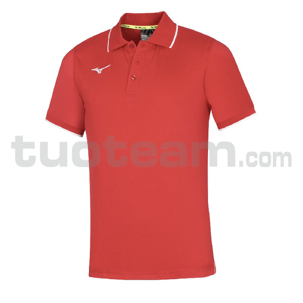 32EA7041 - TEAM MIZUNO POLO - Red/Red