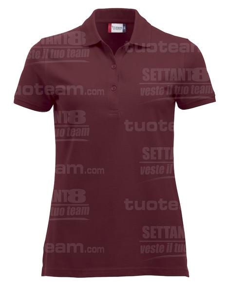 028246 - POLO New Classic Marion S/S - 38 bordeaux