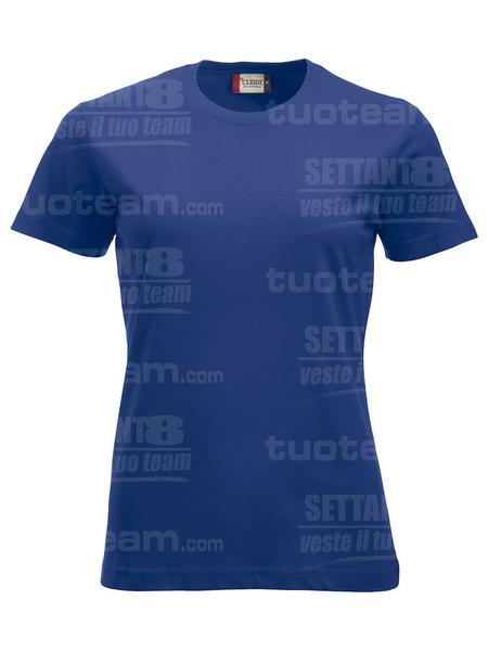 029361 - T-SHIRT New Classic T Lady - 56 cobalto