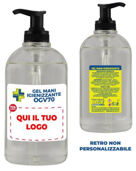 TT2000044 - IGIENIZZANTE MANI GEL ALCOLICO *singolo* (500 ml)
