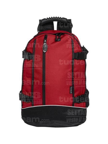 040207 - ZAINETTO Backpack II - 35 rosso