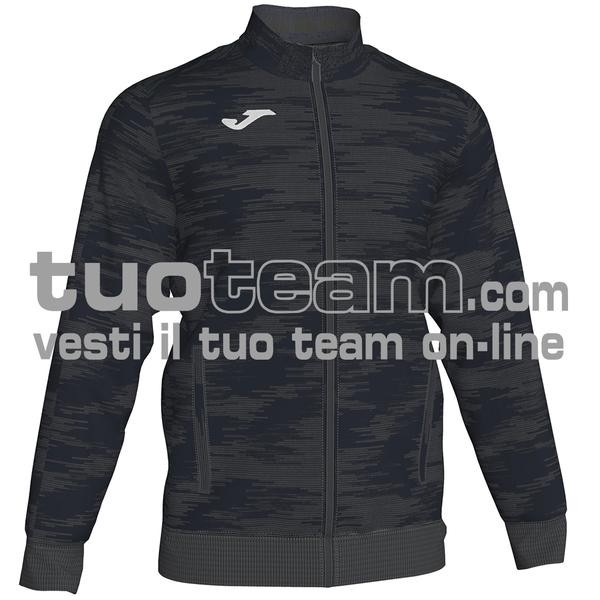 101369 - GRAFITY GIACCA FULL ZIP 100% polyester interlock - 151 ANTRACITE / NERO