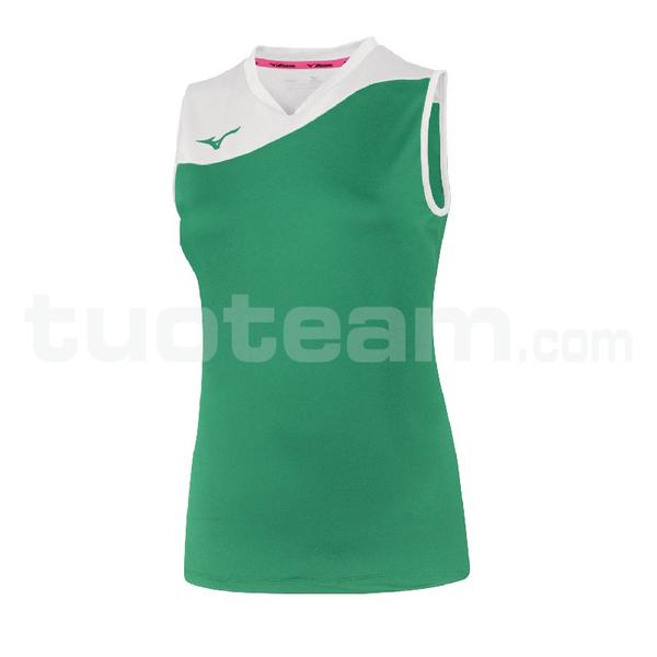 V2EA7205 - authentic myou ns shirt - Green/White