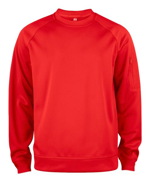 021010 - Basic Active Roundneck - 35 rosso