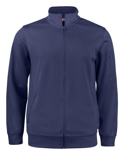 021016 - Basic Active Cardigan - 580 blu navy