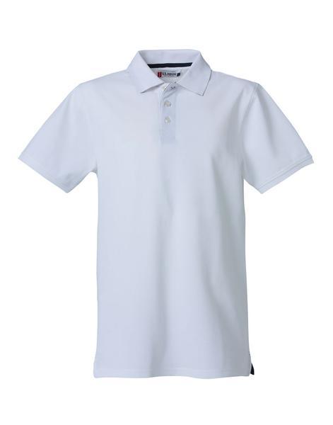 028260 - Heavy Premium Polo - 00 bianco