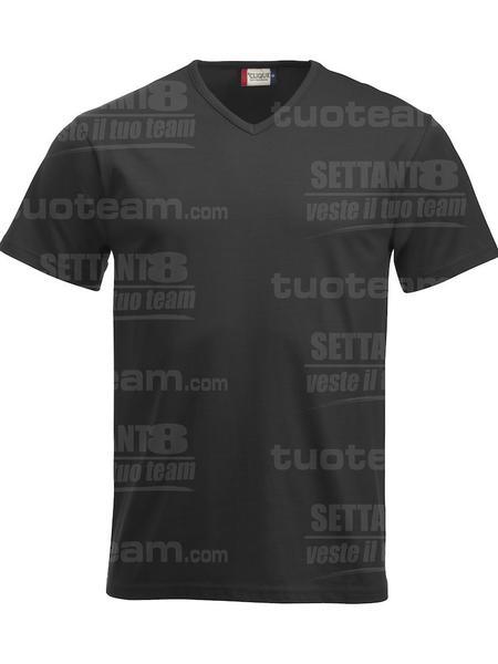 029331 - T-SHIRT Fashion-T V-neck - 99 nero