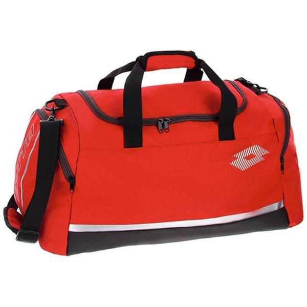 212290 - BAG DELTA PLUS M - ROSSO / GRIGIO / NERO