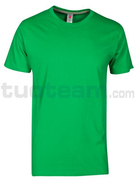 SUNSET - T-SHIRT SUNSET - JELLY GREEN