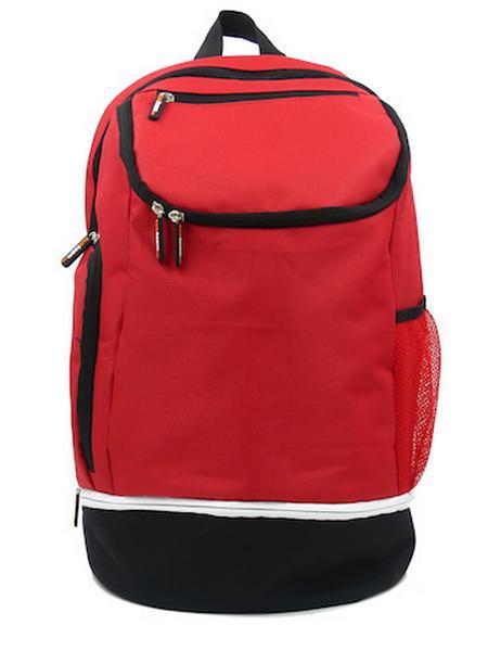 780087 - Zainetto Backpack 24 - ROSSO / NERO