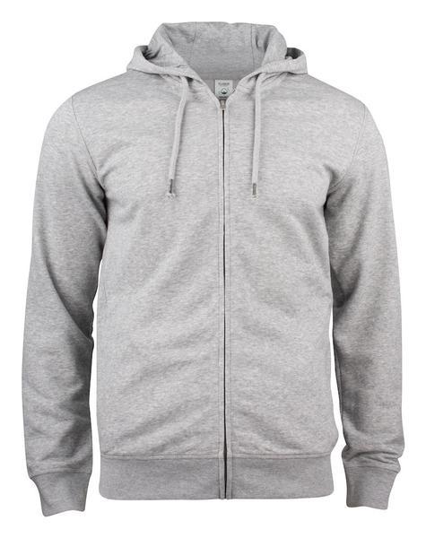 021004 - Premium O.C. Hoody Full Zip - 95 grigio melange