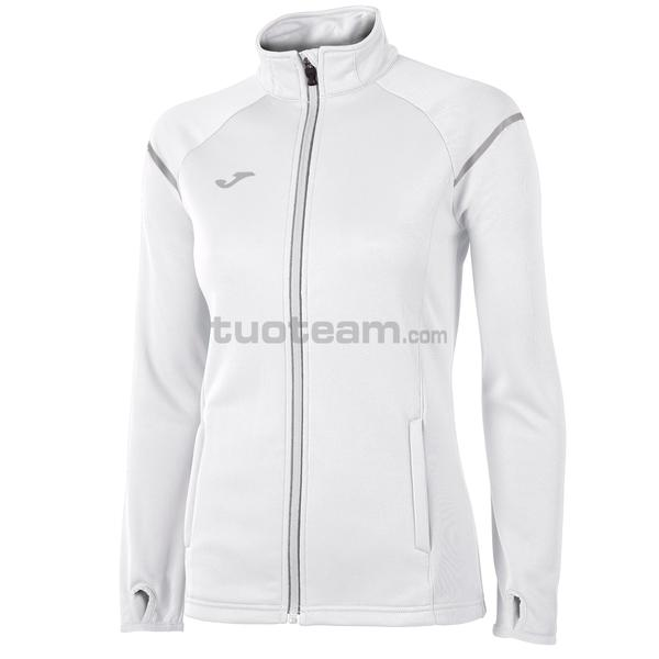 900661 - RACE WOMAN FELPA RACE POLYFLEECE - 200 BIANCO