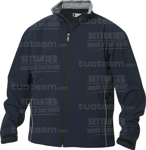 020920 - GIACCA Softshell Men - 580 blu