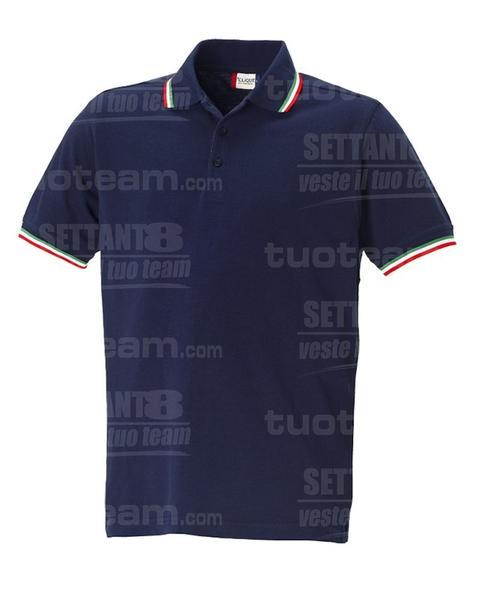 028219 - POLO Amarillo - 5862 BLU NAVY ITALIA