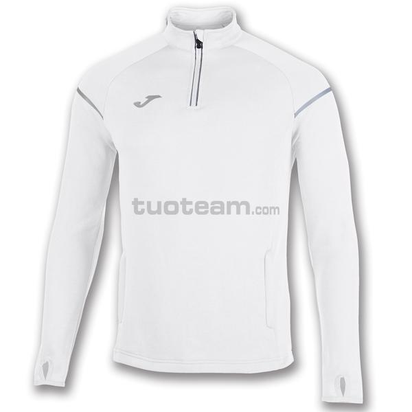 100978 - RACE FELPA 1/2 ZIP 100% polyester fleece - 200 BIANCO