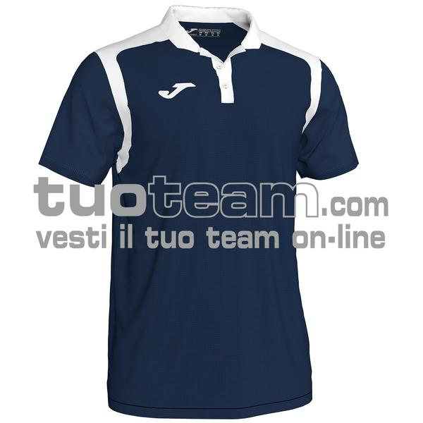 101265 - CHAMPIONSHIP V POLO 100% polyester interlock - 332 DARK NAVY / BIANCO