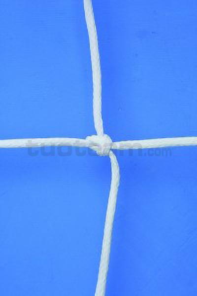 C0016 - COPPIA RETI PORTA 7,5m x 2,5 m maglia quadra 3,5mm