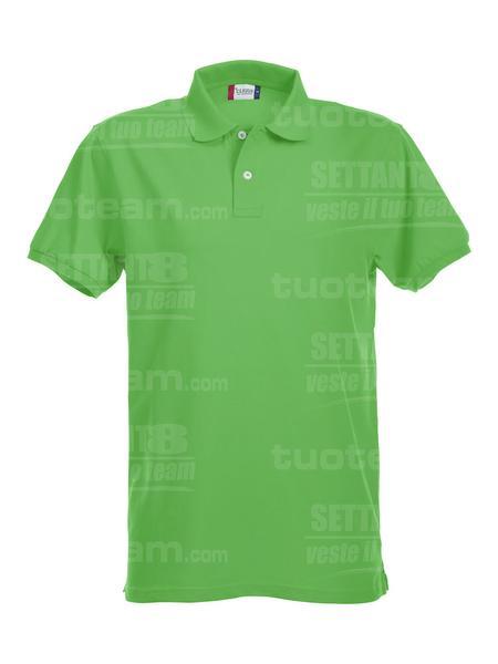 028240 - POLO Premium - 605 verde acido