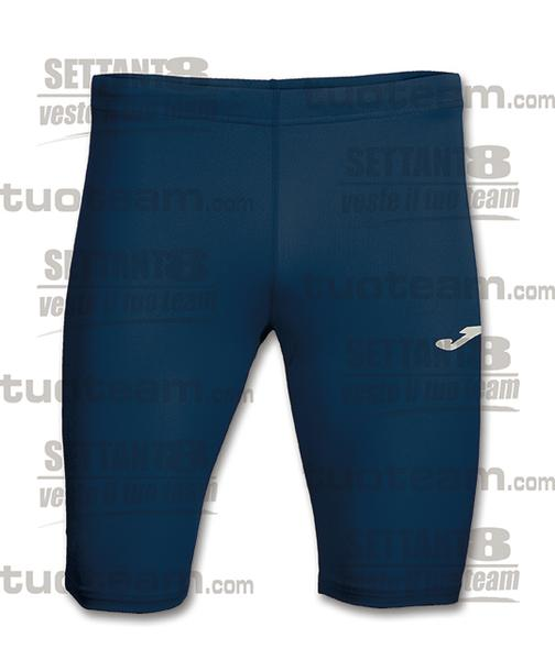 100042 - RECORD BERMUDA TIGHT 100% polyester interlock - BLU NAVY