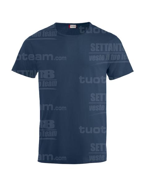 029324 - T-SHIRT Fashion-T - 58 blu navy