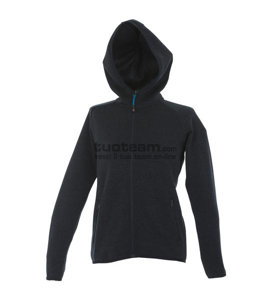 99192 - Knitted Fleece Quebec Lady - NERO