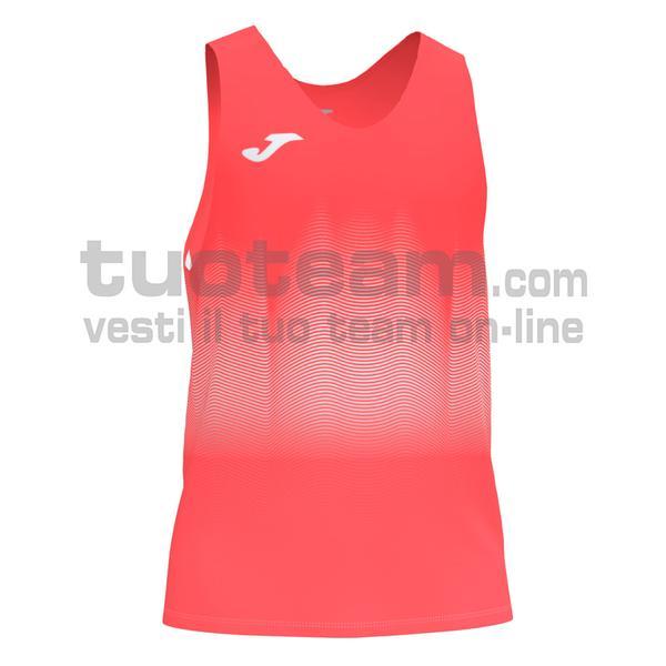101522 - ELITE VII CANOTTA 95% polyester 5% elastane - 040 ARANCIONE FLUOR SCURO