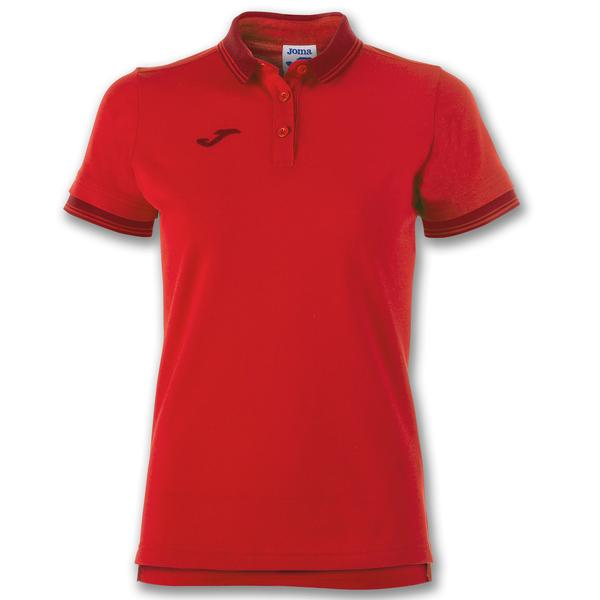 900444 - POLO BALI II WOMAN 65% polyester 35% cotton - 600 ROSSO