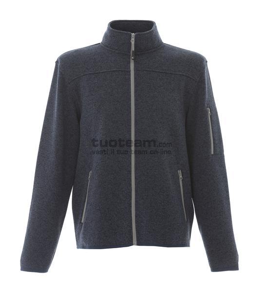 99208 - Knitted Fleece Manchester - BLUE