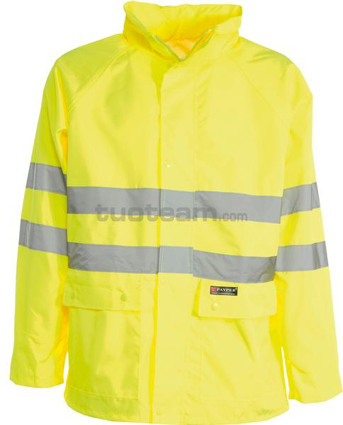 HURRICANE-JACKET - HURRICANE-JACKET - GIALLO FLUO