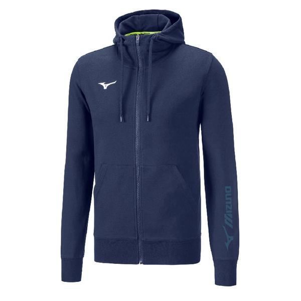 32EC8900 - SWEAT FZ FELPA JUNIOR - Navy/White