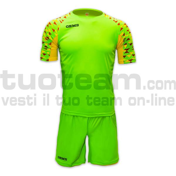AH09 - Kit West Ham - GREENFLUO/OCHERYELLOW