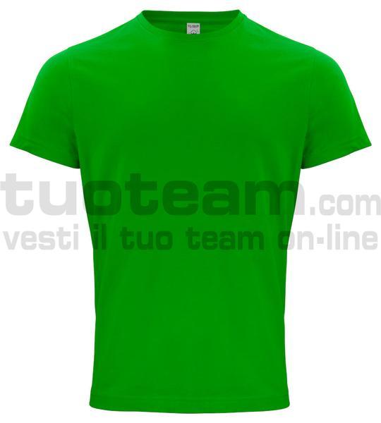 029364 - Organic Cotton T-shirt - 605 verde acido