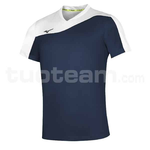 V2EA7003 - authentic myou t/shirt - Navy/White