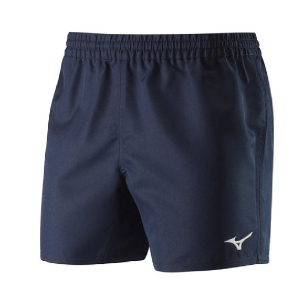 32EB8A11 - AUTHENTIC RUGBY SHORT - Navy/White