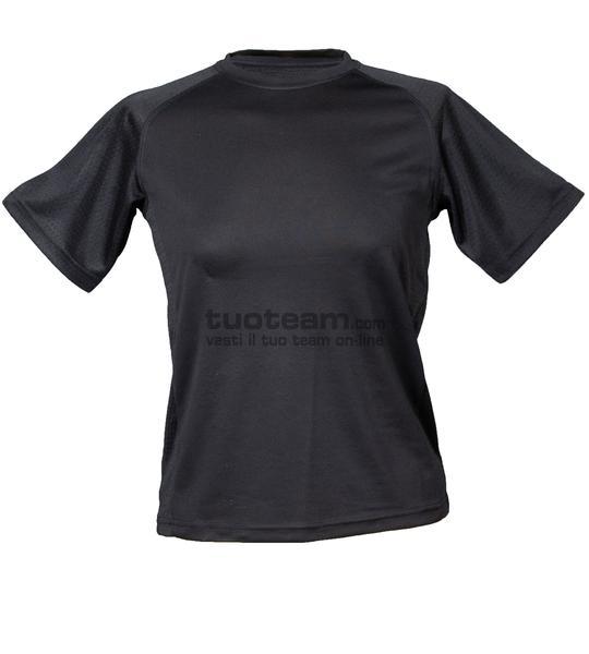 99381 - T-Shirt Montevideo Lady - NERO