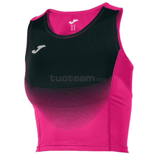 900642 - ELITE VI WOMAN TOP SUBLIMAZIONE - 501 FUSCIA / NERO