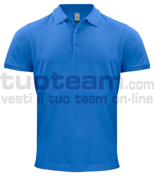 028264 - Organic Cotton Polo - 55 royal