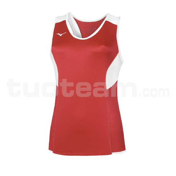 U2EA7301 - Authentic Singlet - Red/Red
