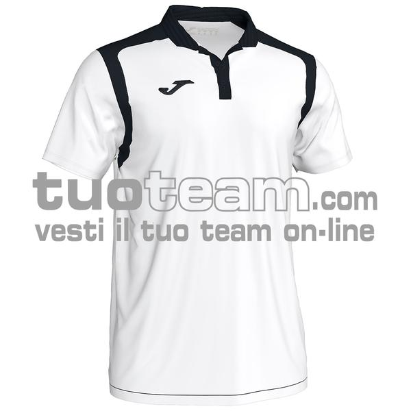 101265 - CHAMPIONSHIP V POLO 100% polyester interlock - 201 BIANCO / NERO