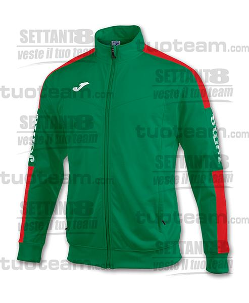 100687 - CHAMPION IV GIACCA CHAMPION IV TRICOT DULL - VERDE/ROSSO/BIANCO