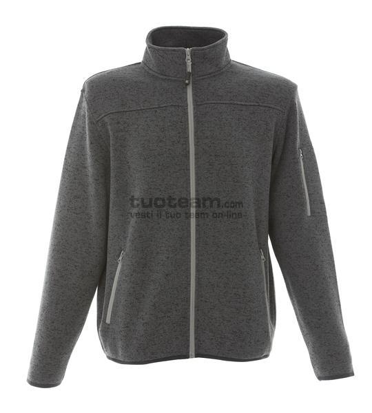 99208 - Knitted Fleece Manchester - DARK GREY