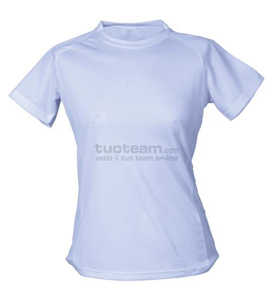 99381 - T-Shirt Montevideo Lady - BIANCO
