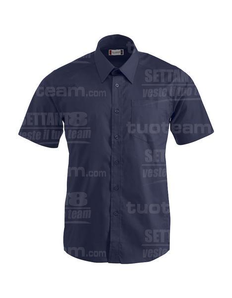 027931 - CAMICIA Samson - 580 blu
