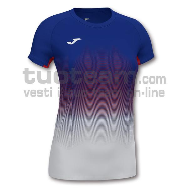901020 - ELITE VII WOMAN MAGLIA MC 95% polyester 5% elastane - 722 ROYAL