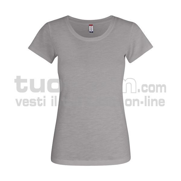 029353 - Slub-T Ladies - 90 GRIGIO