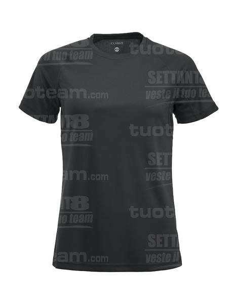 029339 - T-SHIRT Premium Active-T Lady - 99 nero