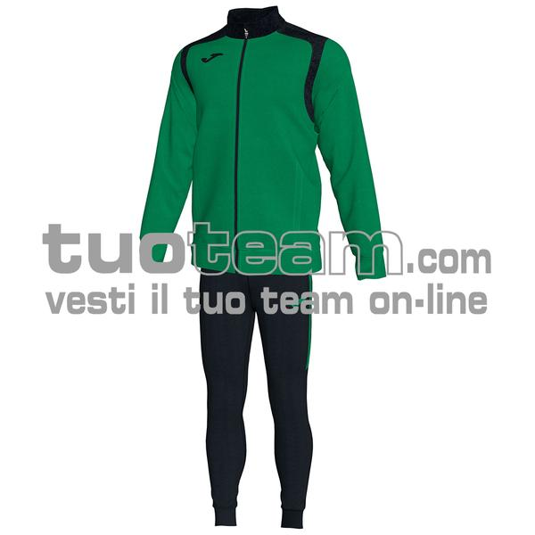 101267 - TUTA CHAMPION V 100% polyester interlock - 451 VERDE / NERO