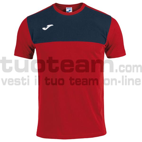 101683 - CAMISETA WINNER ROYAL-MARINO M/C - 603 ROSSO / DARK NAVY